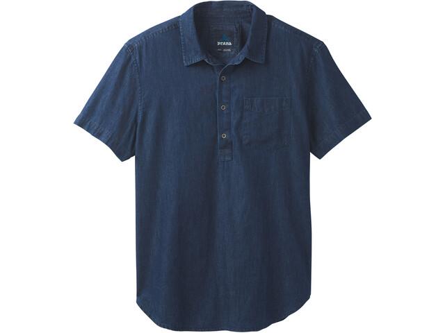 Prana Brandt SS Shirt Herr indigo